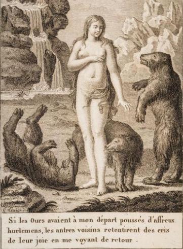 Une mystérieuse jeune femme découverte dans les Pyrénées au début du XIXe siècle. Histoire énigmatique de celle qui vivait parmi les ours.
