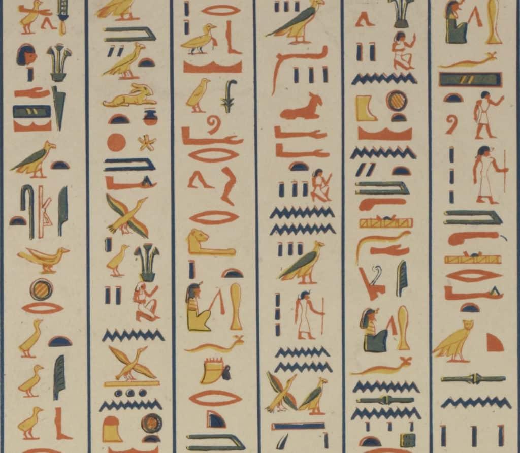 Découvrir les hiéroglyphes égyptiens avec Enquêtes & énigmes.